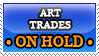 Art Trades ON HOLD - stamp by RupertBlueFox