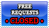 Free Requests CLOSED - stamp by RupertBlueFox
