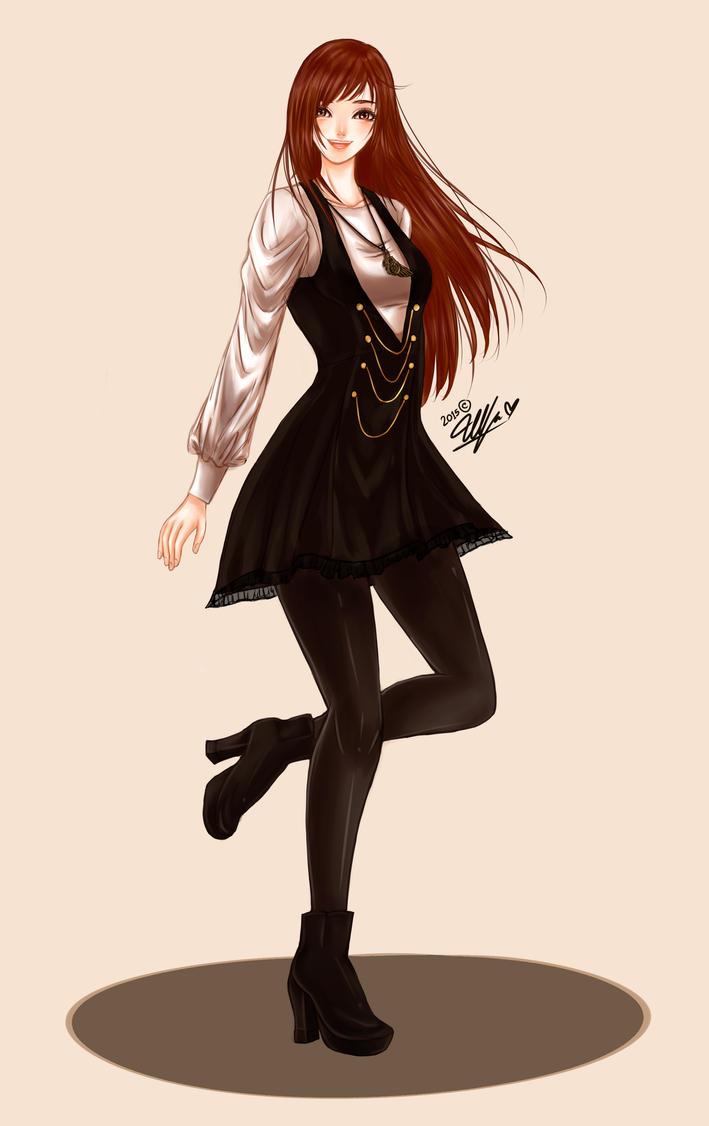 Yupina's Outfit by UlfaShirayukiHime
