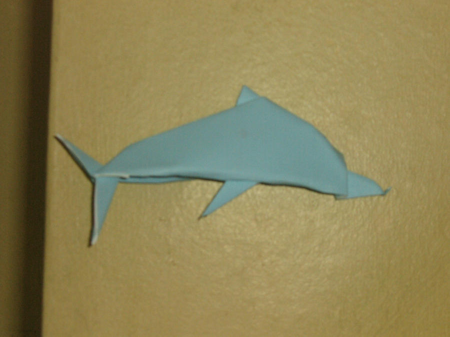 origami dolphin by jeremy shafer by aarrnnoo0123 on deviantart
