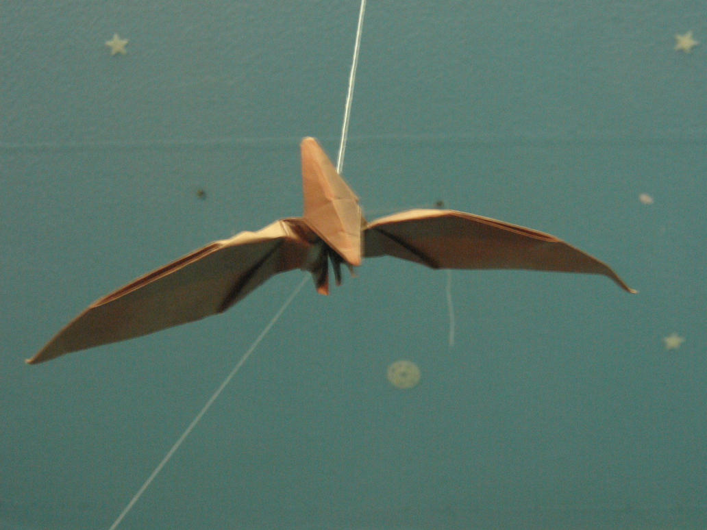 71+ Origami Pteranodon - Origami Dinosaurs For Beginners ... - photo#30