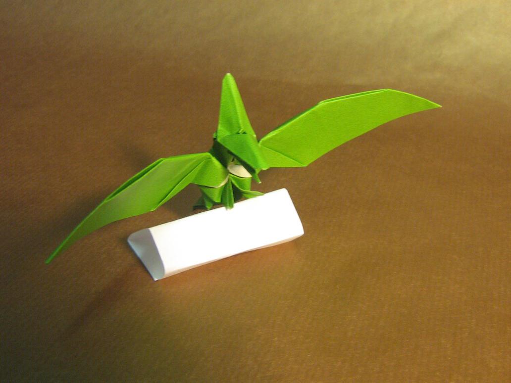 Origami Pterodactyl Pteranodon 1 By Aarrnnoo0123