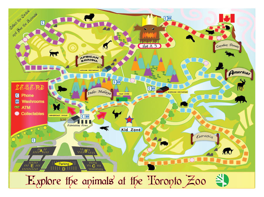 Toronto Zoo Map by ModalSoul on DeviantArt
