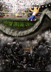 World Cup Brazil / Protests by douglasbatetucci