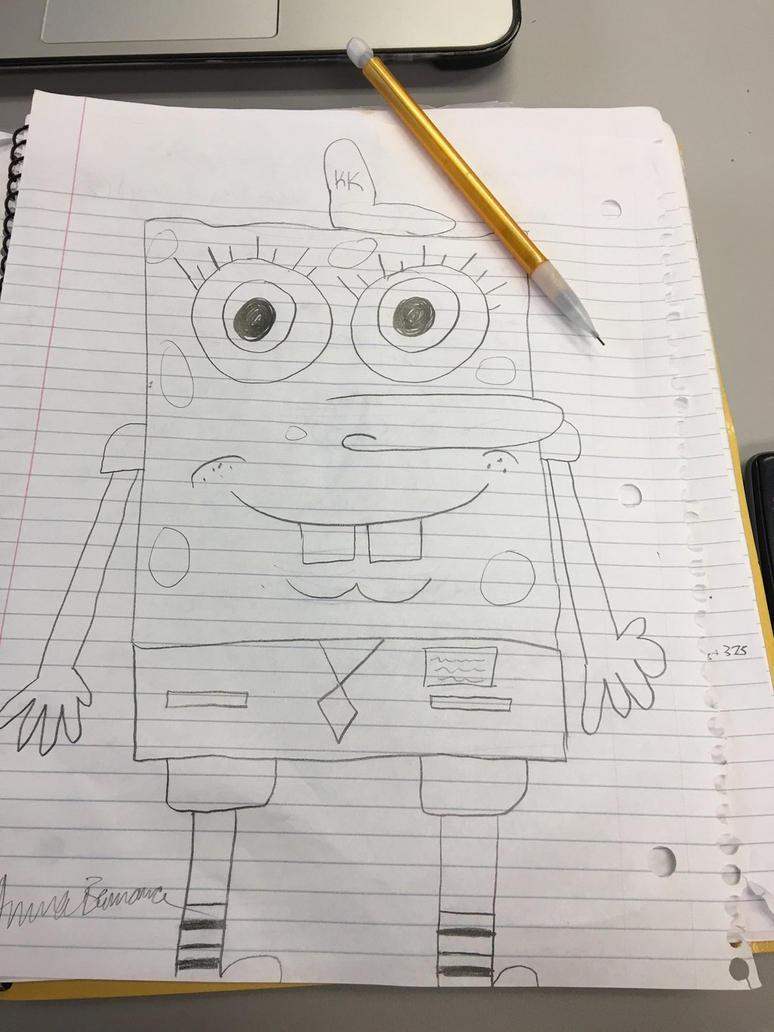 Sponge Bob by Twandoe