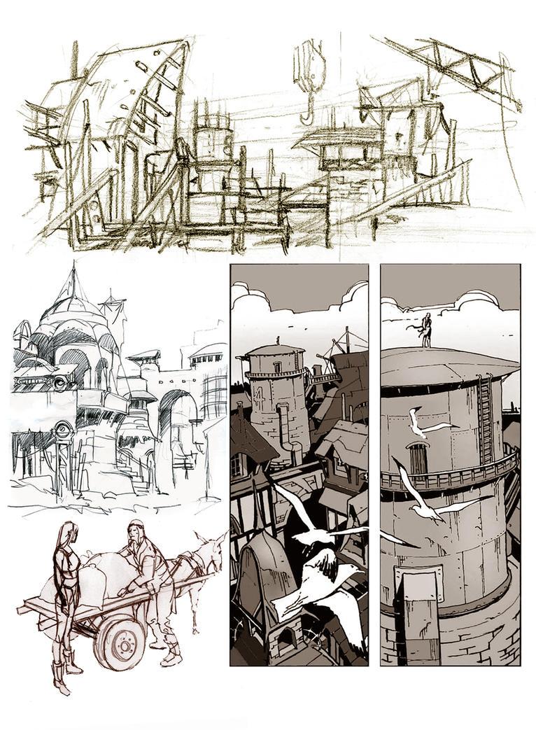 Brendon's World concepts by GiuseppeFranzella