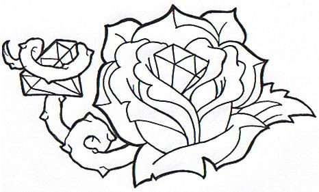 diamond rose by stink on deviantart