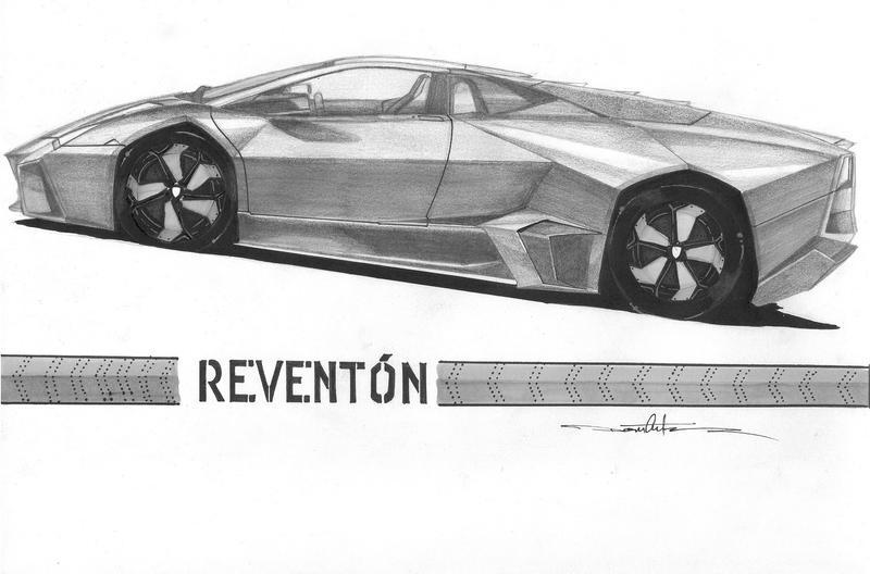 Lamborghini Reventon by Schwarze1