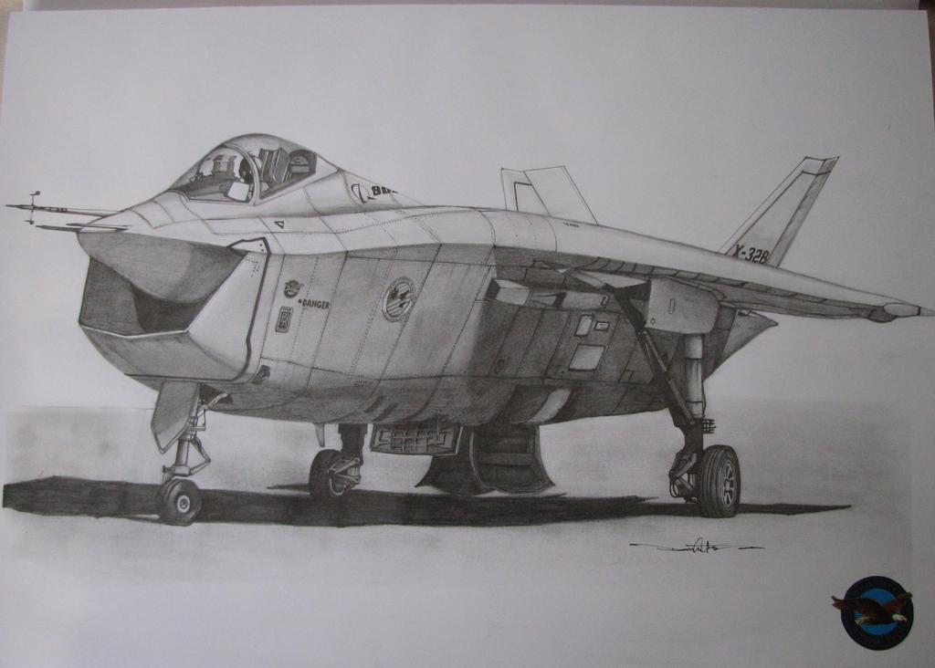 Boeing X-32B JSF by Schwarze1