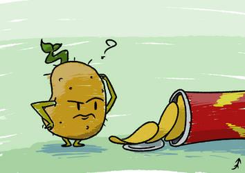 Confused Potato