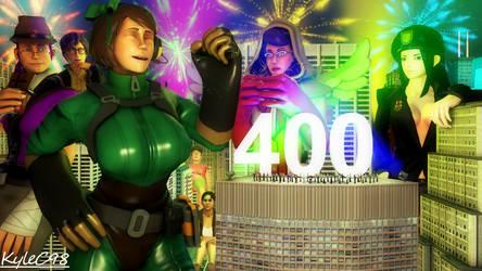 400 Watchers Milestone