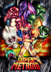 SUPER METROID by Shiinashi