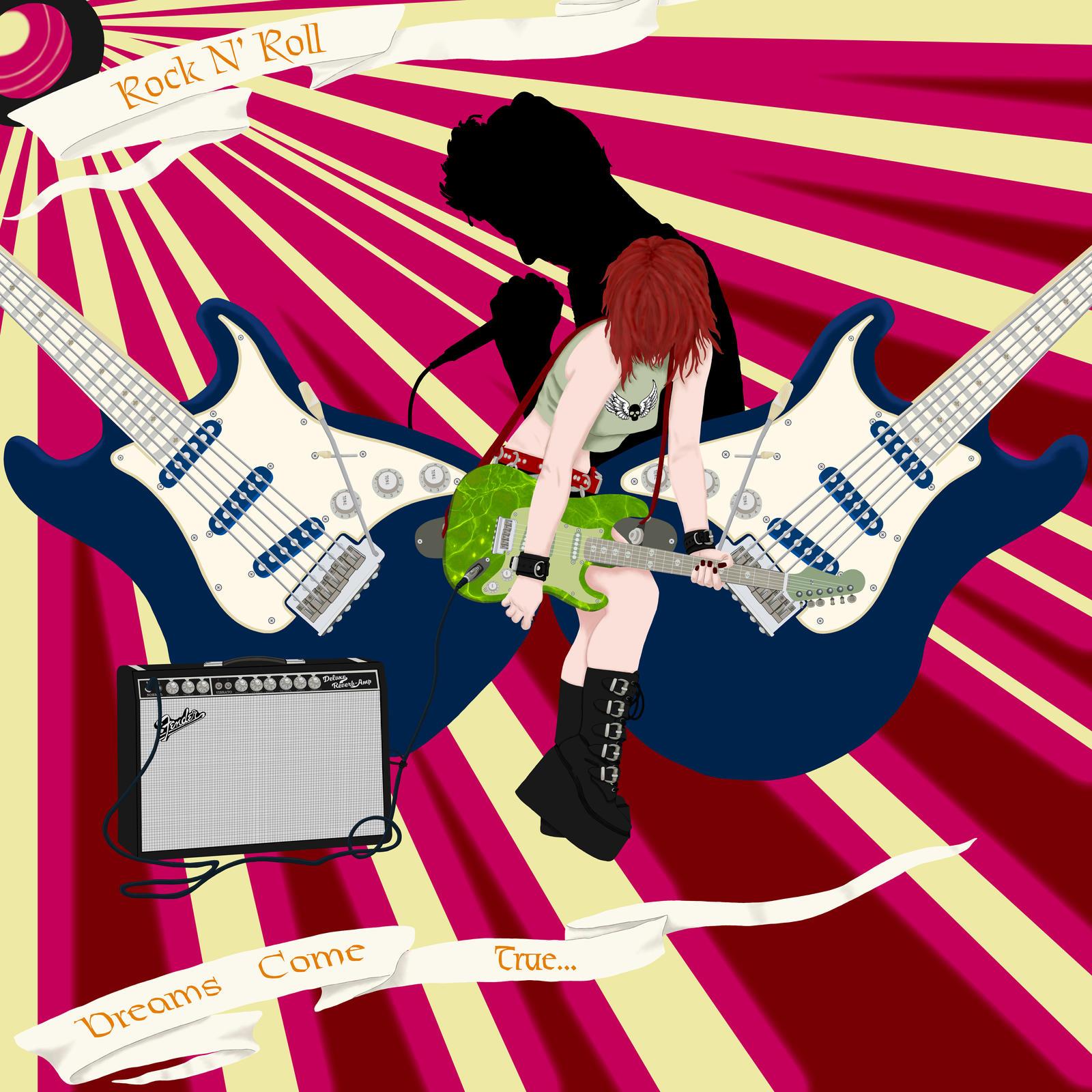 Rock N'Roll Dreams Come True by RaNuit