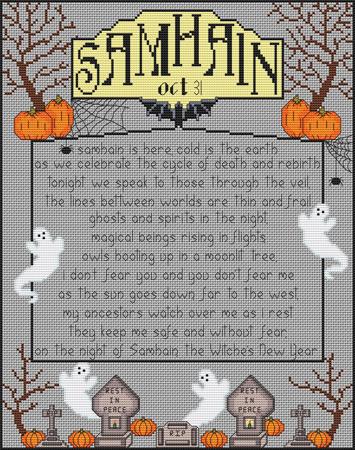 Wheel of the Year Series: Samhain by RaNuit