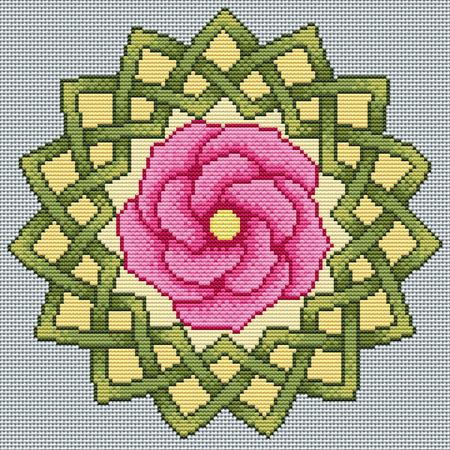 Rose Mandala by RaNuit