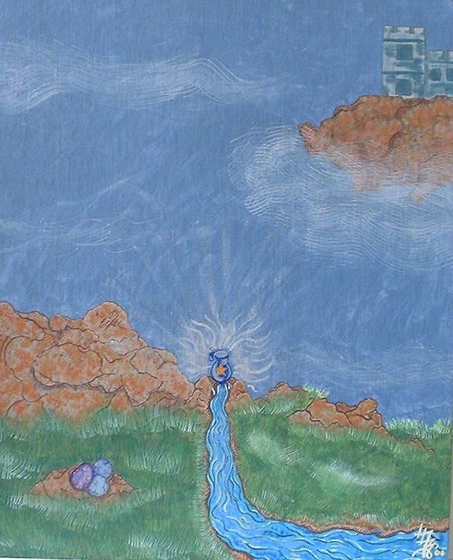 The Sleeping Merlin by RaNuit