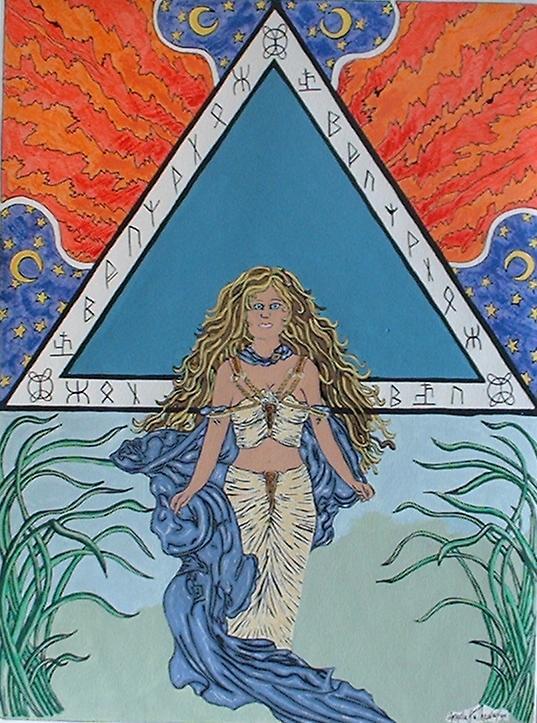 Goddess of the Nile by RaNuit