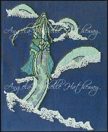 Water Lord Cross Stitch by RaNuit