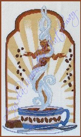 Java Goddess Cross Stitch by RaNuit