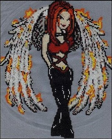Sassy Cross Stitch by RaNuit