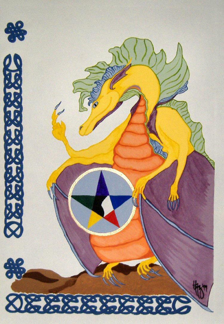 Sherbert Dragon by RaNuit