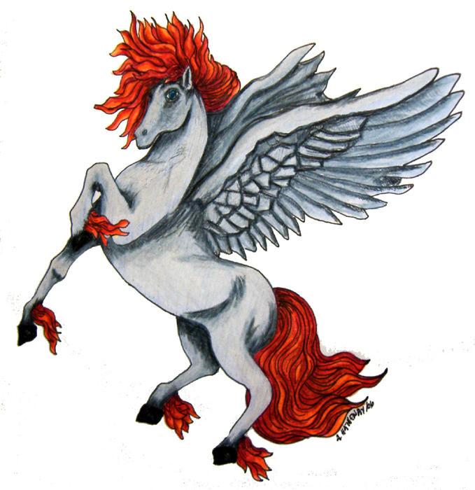 PaDawn: The Fire Pegasus by RaNuit