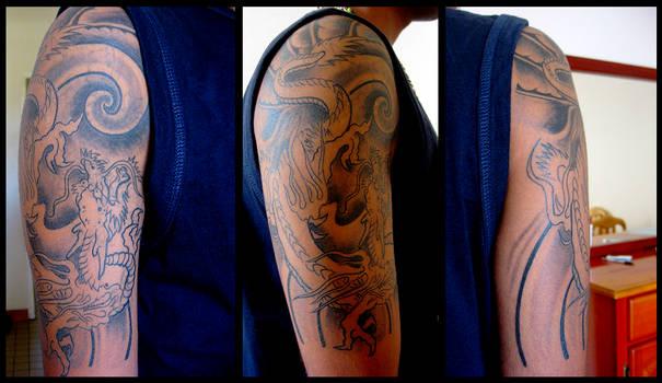 Got my first Tattoo - WIP