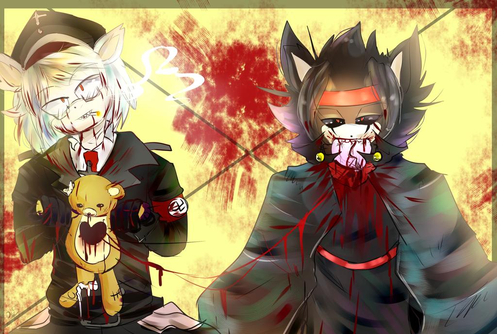 Bloody Villain! -Contest- by DarkLiyana45