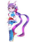 Sash Lilac in Freedom Planet 2