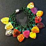 Spring Flowers Scalemaille Bracelet