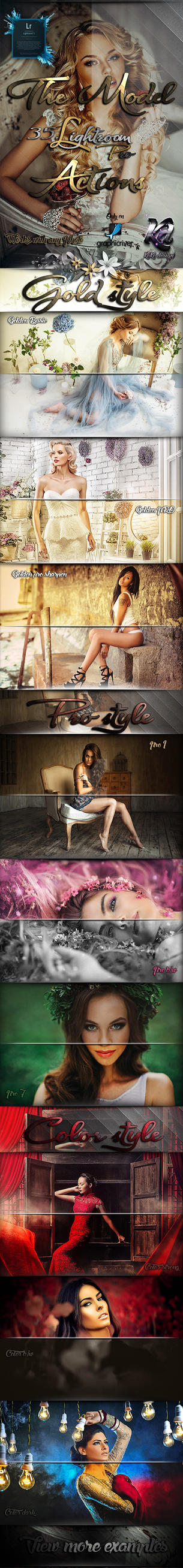 The Model Pro Lightroom Presets by koko26