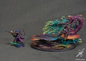 Burning Chariot of Tzeentch - colours