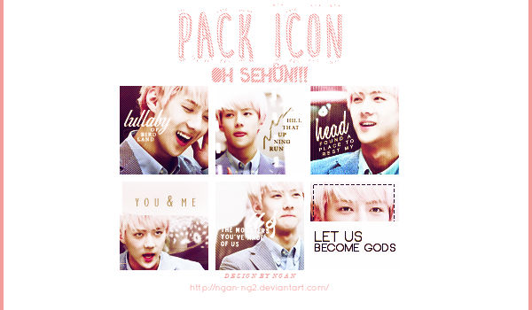 [220614] Pack icon Sehun - EXO