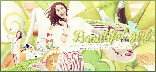 [260614] Beautiful Girl - Signatures Yoona