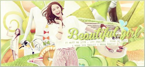 [260614] Beautiful Girl - Signatures Yoona by Ngan-Ng2