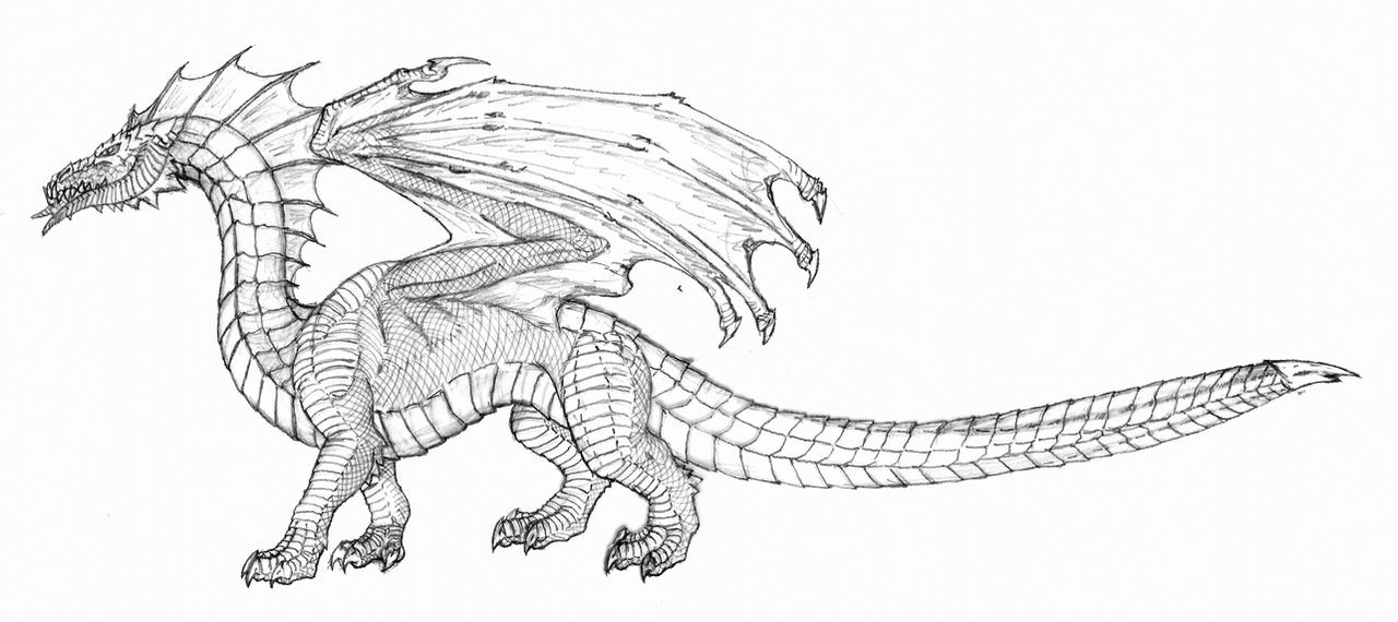 Black Dragon - D4e by hypergojira