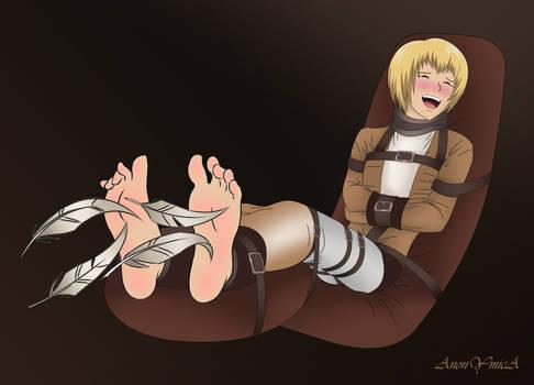 Armin Arlert in ticklish distress (again)