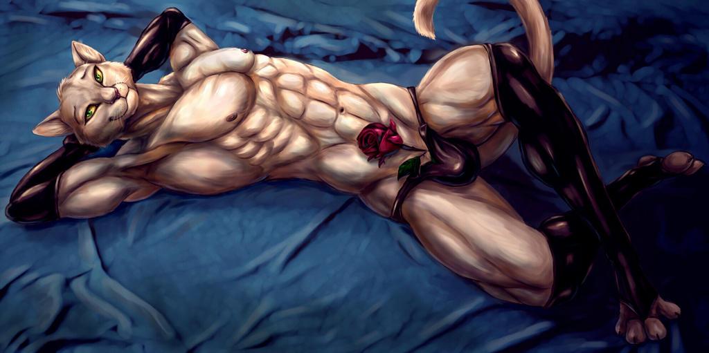 Bleakcat In Bed by Bleakcat