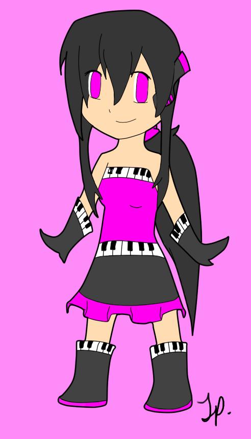 Things that I drew. Random_hikaru_chibi_number_1_by_hikaru421-d31562w