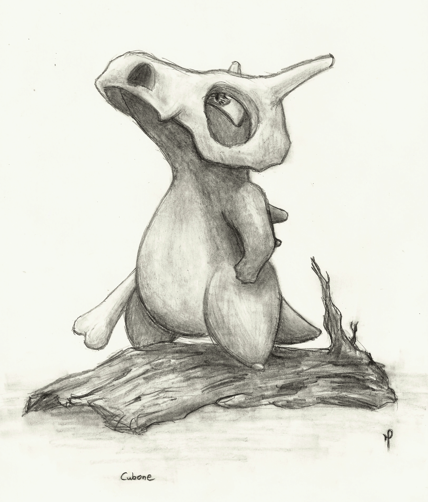 Cubone by BluLizard