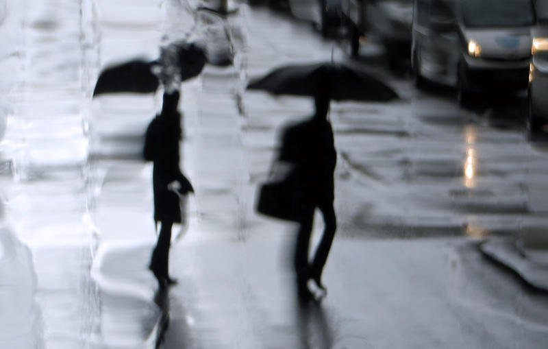 On a rainy day by BellaLubaja