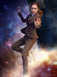 Female 10th Doctor Cosplay #1