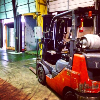 Cross docking refers to moving product from a manufacturing plant and delivers it directly to the customer with little or no material handling in between.