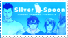 silver spoon stamp by Sezukie
