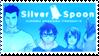 silver spoon stamp by Sezukie