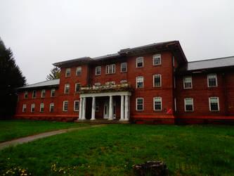 Hospital building by BrickWallDrawsStuff