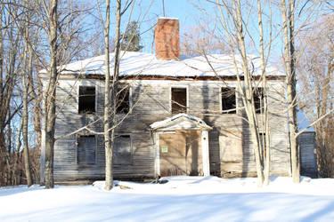 Weathered home by BrickWallDrawsStuff