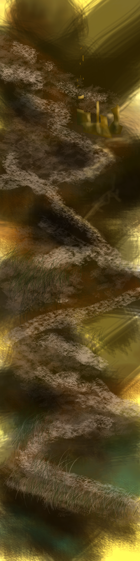 Composition Study for 12 x 48 painting. by DougQ