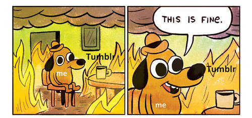 Tumblr in the last hour by LeopardStrike2