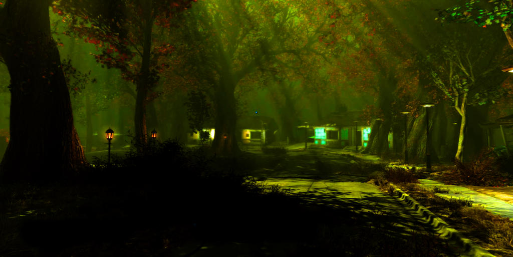 Fallout 4 overgrowth by jgilder88 on DeviantArt